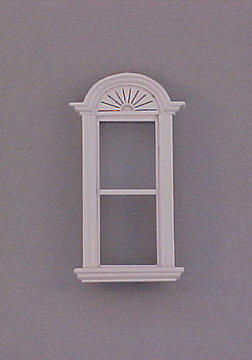 Majestic Mansions Miniature Newport Plain Single Window 1:12 scale