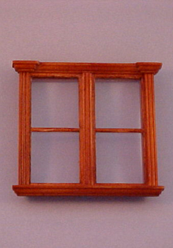 Majestic Mansions Miniature Westfield Double Window 1:12 scale