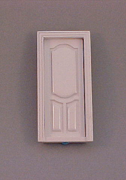 Majestic Mansions White Stannford Interior Door 1:24 scale