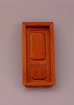 Majestic Mansions Walnut Westfield Interior Door 1:24 scale