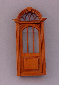 Majestic Mansions Miniature Cambridge Exterior Door 1:12 scale