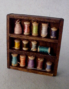 Wall Thread Cabinet 1:12 scale