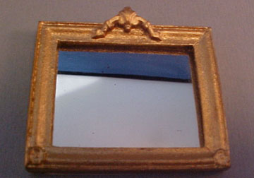 Framed Decorative Mirror 1:24 scale