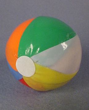By Barb Handcrafted Beach Ball 1:12 scale