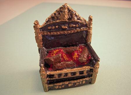 ESTATE SALE Resin Fireplace Box 1:12 scale