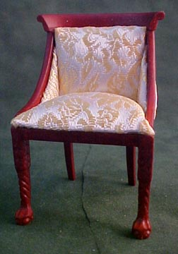 Hannson Mahogany Side Chair 1:12 scale