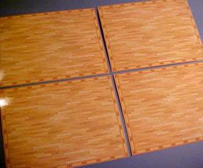 Standard Flooring 1:24 scale