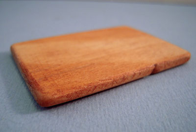 Sir Thomas Thumb Wooden Kitchen Cutting Board 1:12 scale