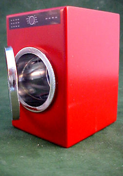 Red Modern Washer 1:12 scale