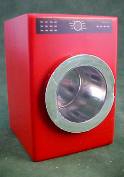 Red Modern Dryer 1:12 scale