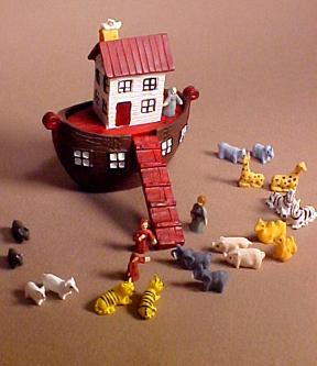 Townsquare Noah's Ark Set 1:12 scale