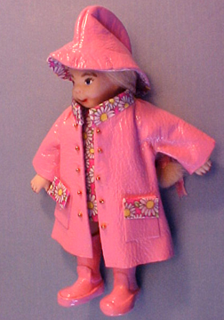 Rainy Dayz Kid in Pink 1:12 scale