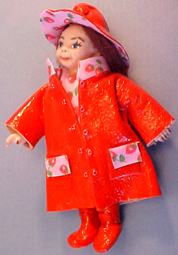 Rainy Dayz Kid in Red 1:12 scale