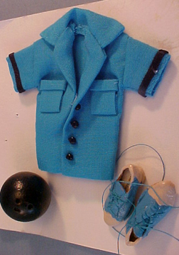 Teri's Mini Workshop Bowling Outfit 1:12 scale