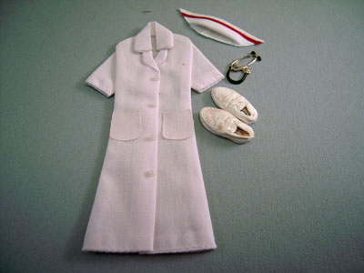 Teri's Mini Workshop Handcrafted Nurses Uniform 1:12 scale