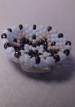 Tucker's Tiny Treasures Beaded Bowl 1:12 scale