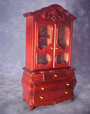 Townsquare Fancy Victorian Bookcase 1:12 scale