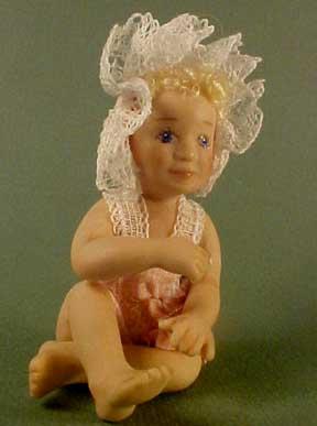 Jan Smith Baby Noel 1:12 scale