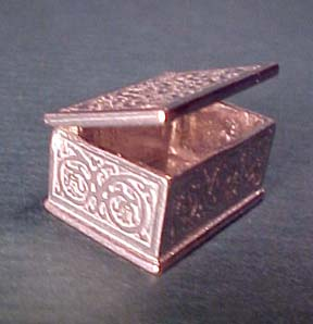 Warwick Trinket Box 1:12 scale