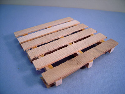 Serendipity Handcrafted Wooden Pallet 1:12 scale
