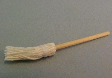 Miniature Mop 1:24 scale