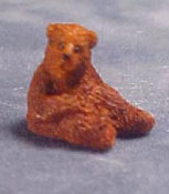 "1/2"" Scale Sitting Bear"