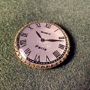 "1/2"" Scale Wall Clock, Old Style"