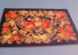 "1/2"" Scale Golden Rose Carpet"