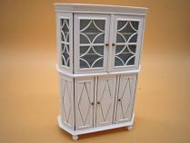 Dollhouse Miniatures 1:12 Scale China Cabinet Kit #CB2106