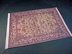Mc Bay Miniatures Floral Print Carpet