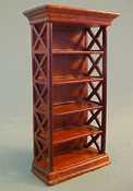 "Lee's Line 1/2"" Scale Miniature Spice Bookcase"