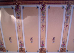 "1/2"" Scale World Model Beige Column Wallpaper"