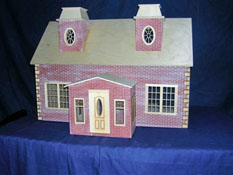 "Alessio Miniatures 1"" Scale Assembled Country Estate"