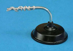 "1"" Scale Black Overhead Store Light"