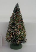 "1/2"" Scale Decorated Christmas Tree"