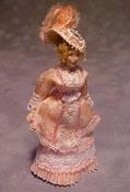 """Loretta Kasza 1/2"""" Scale Cybil Porcelain Doll"""