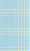 "1/2"" Scale Small Blue Checked Tile Flooring"