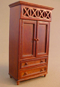 "Lee's Line 1/2"" Scale Spice Armoire"