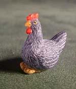 """Falcon 1/2"""" Scale Gray Hen"""