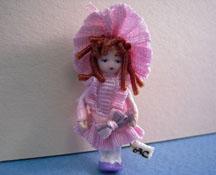 "Angel Children 1/2"" Scale Wee Courtney Miniature Doll"