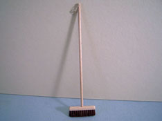 "Silvia Leiner 1"" Scale Miniature Work Push Broom"
