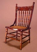 "Miniature Factory 1"" Scale Colonial Side Chair"