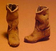 """Prestige Leather 1"""" Scale Old Cowboy Boots"""