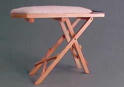 "1"" Scale Pine Ironing Board"