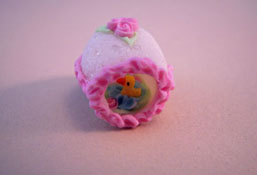 "Lola Originals 1"" Scale Hand Crafted Scenic Easter Egg"