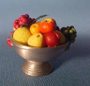 "1"" Scale Fruit in a Footed Compote"