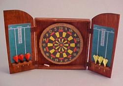 "Amy Robinson 1"" Scale Hand Crafted Pub Dart Set"