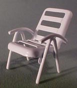 "Townsquare 1/2"" Scale Lawn Chair"