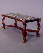 "IDM 1/2"" Scale Miniature Faux Top Coffee Table"