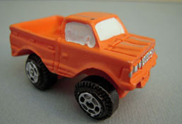 "1"" Scale Miniature Toy Truck"